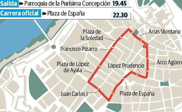 Jueves Santo en Badajoz: Santísimo Cristo del Amor y Nuestra Señora de la Consolación