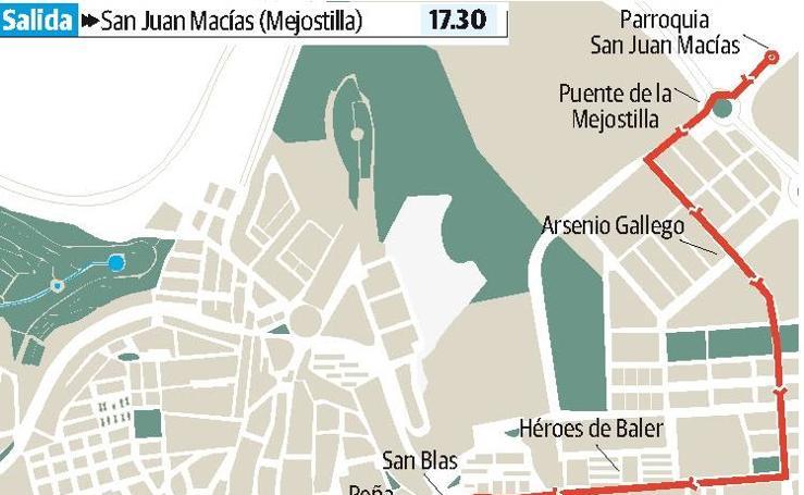 Sábado en Cáceres: Cristo de la Victoria y Nuestra Señora del Rosario