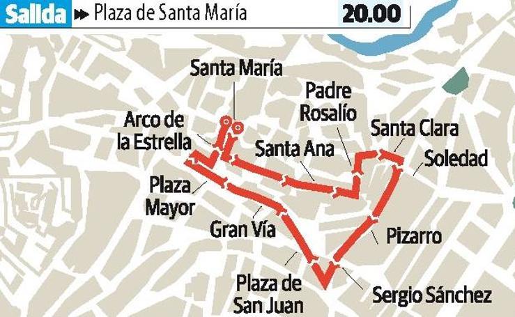Sábado en Cáceres: Nuestra Señora del Buen Fin