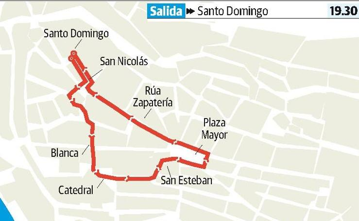 Sábado en Plasencia: Procesión de la Soledad y el Santo Sepulcro