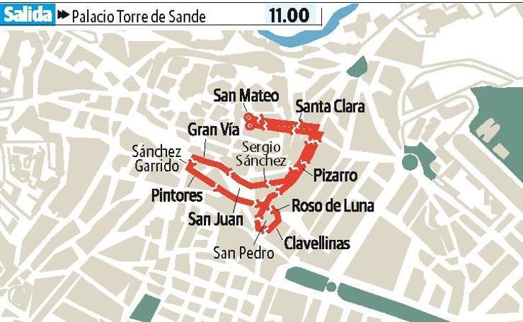 Viernes Santo en Cáceres: Nuestra Señora de Gracia y Esperanza y Jesús de la Expiración