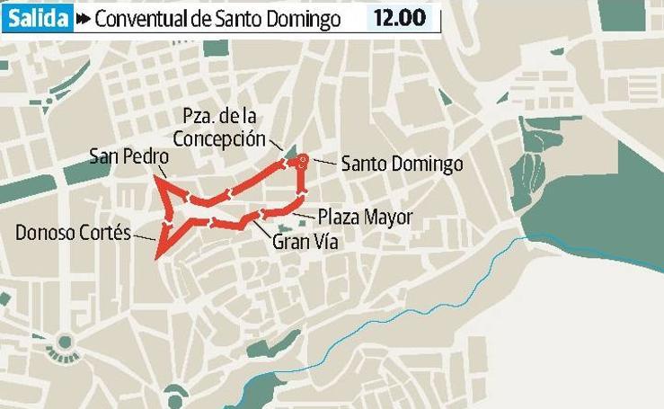 Viernes Santo en Cáceres: Cristo del Calvario