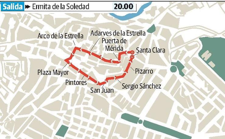 Viernes Santo en Cáceres: Santo Entierro