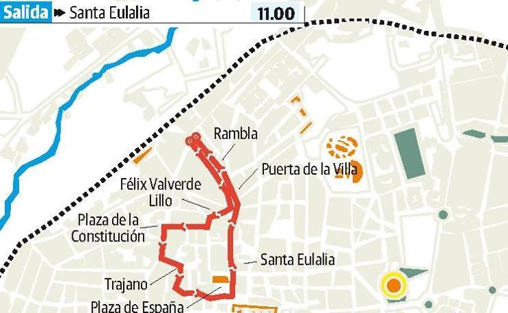 Viernes Santo en Mérida: Santísima Virgen de las Angustias y Nuestra Señora de la Esperanza