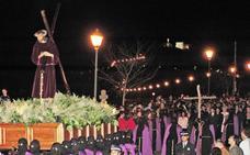 La Pasión cacereña vive hoy su jornada más austera con el Cristo del Amparo y el Jesús del Perdón