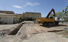 El colegio Alba Plata de Cáceres inicia su reforma, que terminará a finales del próximo curso