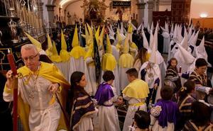 Badajoz se adentra en la Pasión con la Oración en el Huerto