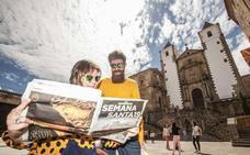 El turista del norte conquista Cáceres en Semana Santa