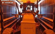 Desarticulan una banda criminal que robó maquinaria en Cáceres para exportarla a Marruecos