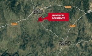 Dos personas resultan heridas en un choque entre dos vehículos en Burguillos del Cerro