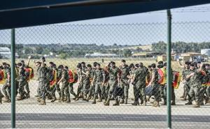 Las brigadas 'Extremadura XI' y la Mecanizada Portuguesa celebran un acto de hermanamiento