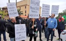 Más de 200 productores protestan en Jaraíz por los precios del Pimentón de la Vera