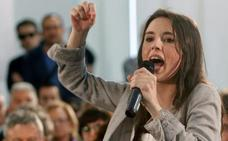 Irene Montero: «Votar a Pedro Sánchez es votar a Rivera entrando en la Moncloa»