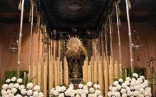 La procesión de la Soledad se da la vuelta y la Sentencia y la Vera Cruz se quedan en casa