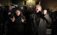Estudiantes, Andaluces y la Soledad vertebran el Viernes Santo en Cáceres