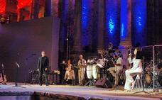 La limitación del uso del Teatro Romano de Mérida no afectará al concierto de Ana Belén en mayo