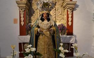 La Virgen que acompaña al Resucitado en Villanueva del Fresno saldrá restaurada