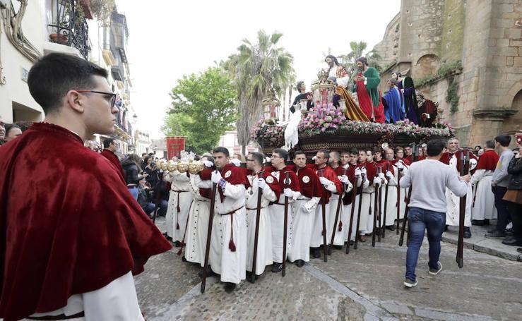 Procesión de la Sagrada Cena en Cáceres