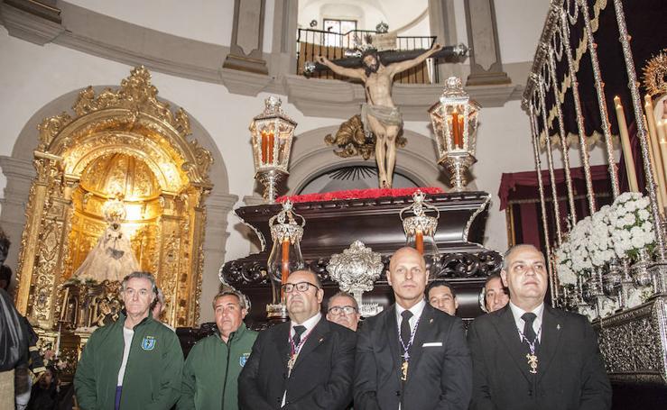 La hermandad de la Vera Cruz tuvo que suspender la procesión del Cristo del Amor y la Consolación