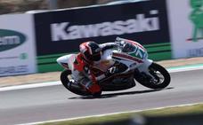 Iván Bolaño, sin suerte en su debut en Superbike