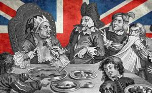 Cuando Sancho Panza prefirió comer a la inglesa