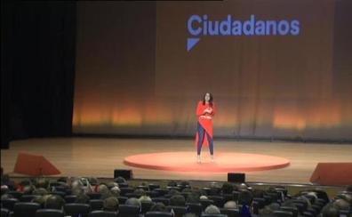 Arrimadas: «Con Cs, a Rufián y a Esteban se les borrará esa sonrisita supremacista»
