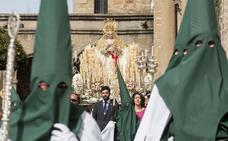 La Plaza Mayor de Plasencia se llenará para ver el encuentro entre Jesús de la Pasión y la Virgen del Rosario