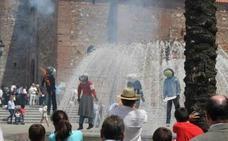 La quema de Judas del Domingo de Pascua cierra la semana de Pasión en Monesterio