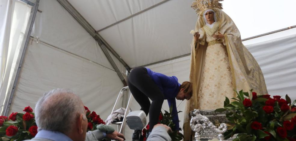 Un madrugador Jesús Resucitado despide con júbilo la Semana Santa en Mérida