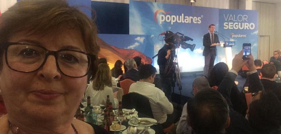 Fragoso incorpora a Loli Vázquez en su candidatura en Badajoz, que presentará mañana