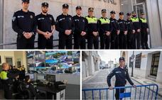 El primer día en la Policía Local
