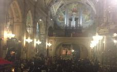 La Coral ofrece en Almendralejo su última actuación del Triduo Pascual