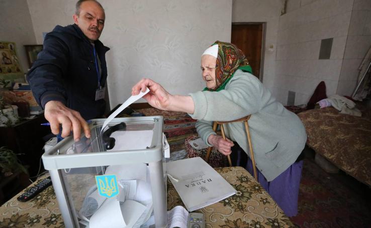 Elecciones generales en Ucrania