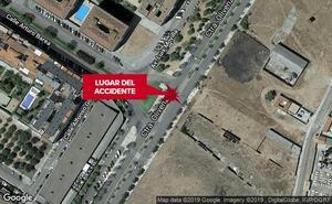 A disposición judicial un conductor ebrio implicado en un accidente en Badajoz cuando tenía retirado el carné