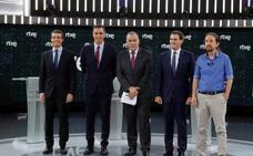 El debate concluye sin despejar la duda de los posibles pactos