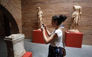 El Museo Romano de Mérida recibe 16.458 visitantes en Semana Santa, un 15% más