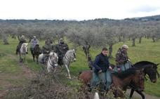 Este sábado, ruta a caballo de Valverde del Fresno a Cilleros