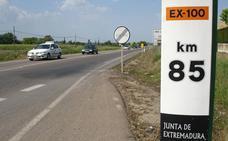 La Junta aprueba el decreto de cambio de titularidad de la carretera Cáceres-Badajoz