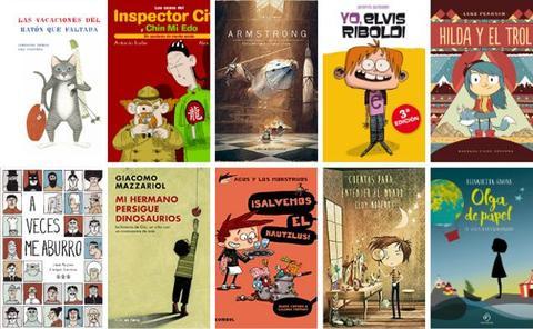 Listado de recomendaciones por expertos de libros para niños