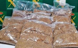 Intervienen 10 kilos de picadura de tabaco en Mérida para la fabricación casera y venta clandestina de cigarros
