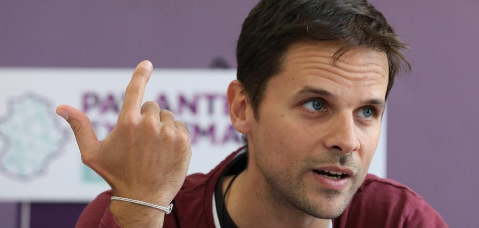 Álvaro Jaén: «La manera de hacer un Gobierno de avance es quedar por encima del PSOE»