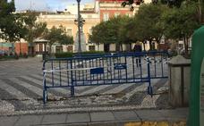 Acordonan una zona de San Andrés en Badajoz tras la caída de un vecino