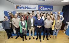 Rafael Mateos propone a su candidatura «unión», «diálogo» y «trabajo en equipo» para ganar en Cáceres