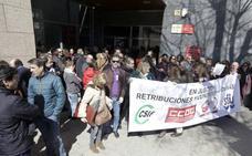 Los funcionarios de Justicia no descartan ir a la huelga si no se equiparan los complementos