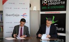 Ibercaja y la Fundación Jóvenes y Deporte dan continuidad a su colaboración