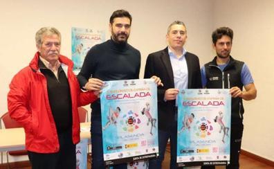 Plasencia acoge el campeonato de España de escalada infantil y cadete
