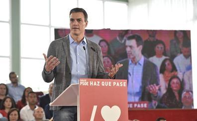 Sánchez pide un esfuerzo final para poder continuar con su agenda social