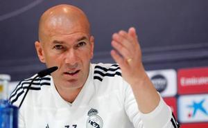 Zidane: «El próximo año la Liga será el primer objetivo»
