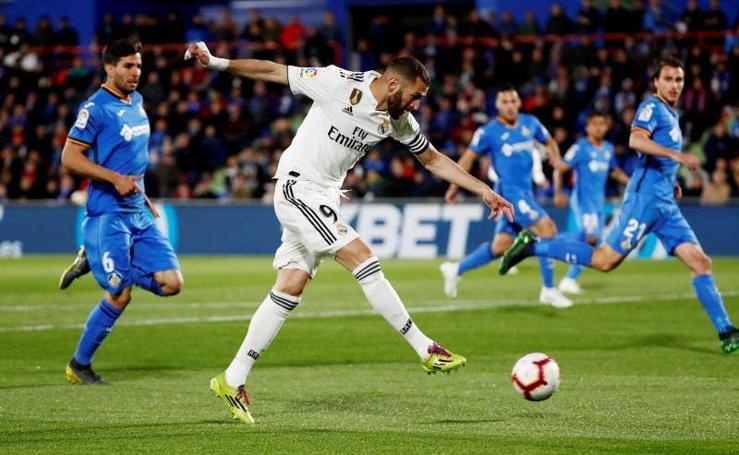 Las mejores imágenes del Getafe-Real Madrid