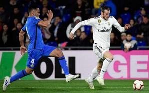 Getafe-Real Madrid, en directo